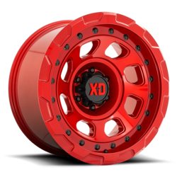 XD Series Wheels XD861 Storm - Gloss Red Rim