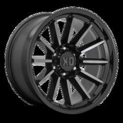 XD Series Wheels XD865 Phoenix - Gloss Black Milled Rim
