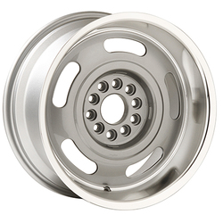 Yearone Wheels Corvette Rallye - Silver with machined lip Rim