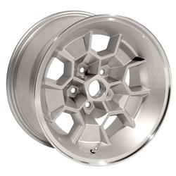 Yearone Wheels Yearone Wheels Honeycomb - Silver powder coated with machined lip