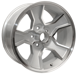 Yearone Wheels N90 - Silver powder coated with machined lip. Rim