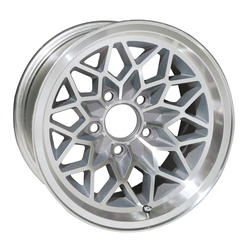 Yearone Wheels Snowflake - Silver painted recesses Rim