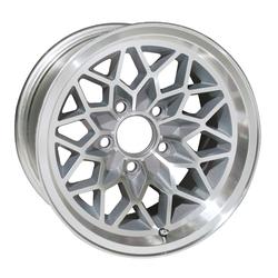 Yearone Wheels Yearone Wheels Snowflake - Silver painted recesses