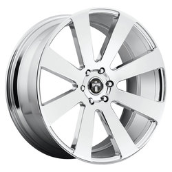 DUB Wheels 8 Ball (S131) - Chrome Rim - 22x9.5