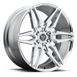 DUB Wheels Attack S210 - Chrome - 22x9.5