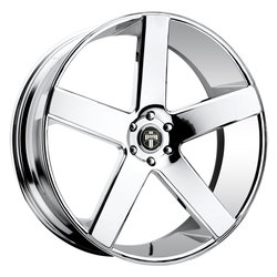 DUB Wheels Baller (S115) - Chrome - 24x9