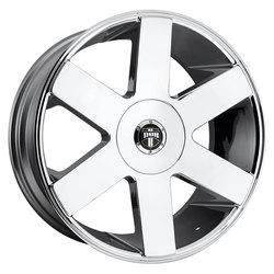 DUB Wheels Baller 6 (S232) - Chrome Rim - 22x9.5