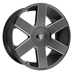 DUB Wheels Baller 6 (S233) - Gloss Black & Milled