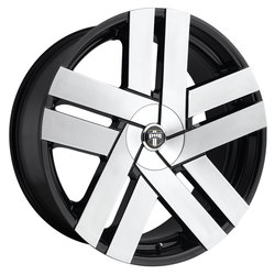 DUB Wheels Butta (S225) - Gloss Black Brushed