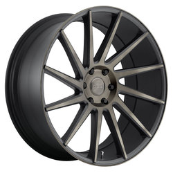 DUB Wheels Chedda (S128) - Black & Machined w/ Dark Tint