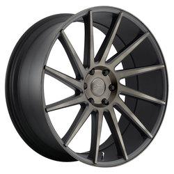 DUB Wheels Chedda (S128) - Black & Machined w/ Dark Tint - 24x10