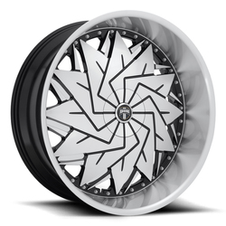 DUB Wheels Dazr (S234) - Gloss Black Machined