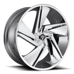DUB Wheels Fade (S246) - Chrome