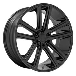 DUB Wheels Flex (S256) - Gloss Black Rim