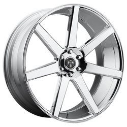 DUB Wheels Future (S126) - Chrome - 28x10