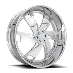 DUB Wheels Hypa XB20 - Chrome Rim