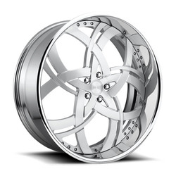 DUB Wheels Jungle X116 - Brushed / Polished Lip Rim - 30x10