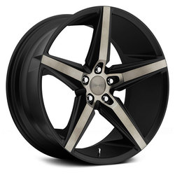 DUB Wheels Lace S119 - Black / Machined Face / Tinted