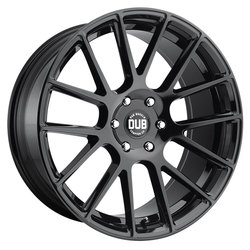 DUB Wheels Luxe (S205) - Gloss Black Rim - 24x9.5