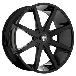 DUB Wheels Push (S110) - Gloss Black Rim - 24x9.5