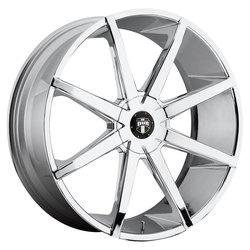 DUB Wheels Push (S111) - Chrome Rim - 26x9.5