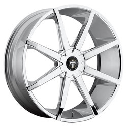 DUB Wheels Push (S201) - Chrome Rim - 22x9.5