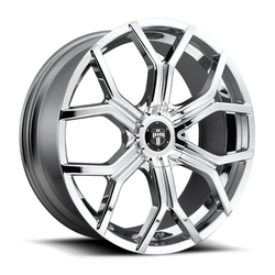 DUB Wheels Royalty (S207) - Chrome Rim - 24x9.5