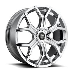 DUB Wheels Royalty (S207) - Chrome Rim - 22x9.5