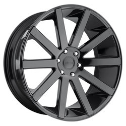 DUB Wheels Shot Calla (S219) - Gloss Black Rim - 22x9.5
