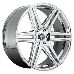 DUB Wheels Skillz (S122) - Chrome Rim - 22x9.5