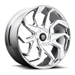 DUB Wheels Sleeper S124 - Chrome Rim