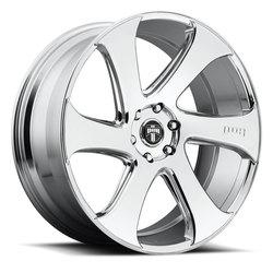 DUB Wheels Swerv S129 - Chrome Rim
