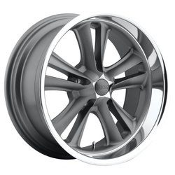 Foose Wheels Knuckle F099 - Matte Gunmetal - 17x7