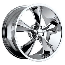 Foose Wheels Legend F105 - Chrome Rim - 17x7