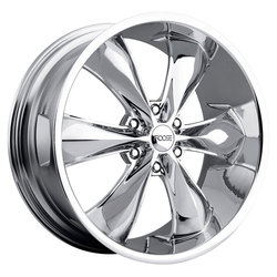 Foose Wheels Legend 6 F137 - Chrome - 22x9.5