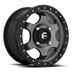Fuel UTV Wheels Gatling D640 - Anthracite / Black Rim