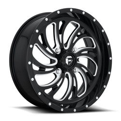 Fuel UTV Wheels Kompressor D641 - Gloss Black / Milled Rim - 18x7