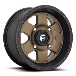 Fuel UTV Wheels Podium D617 - Matte Bronze / Black