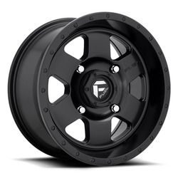 Fuel UTV Wheels Podium D618 - Matte Black