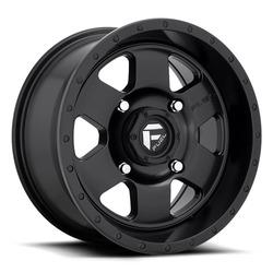 Fuel UTV Wheels Podium D618 - Matte Black Rim