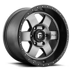 Fuel UTV Wheels Podium D619 - Matte Anthracite / Black
