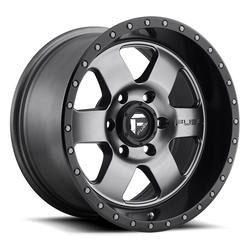 Fuel UTV Wheels Podium D619 - Matte Anthracite / Black Rim