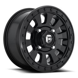 Fuel UTV Wheels Tactic D630 - Matte Black Rim - 14x7