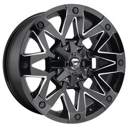 Fuel Wheels Fuel Wheels Ambush D555 - Gloss Black & Milled