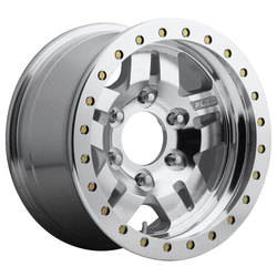 Fuel Wheels Anza Beadlock D116 - Raw Machined