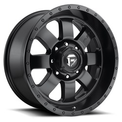 Fuel Wheels Baja D626 - Matte Black