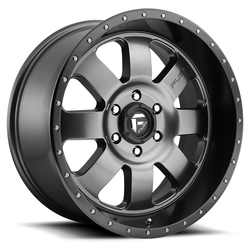 Fuel Wheels Fuel Wheels Baja D628 - Anthracite with Black Lip