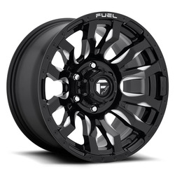 Fuel Wheels Fuel Wheels Blitz D673 - Gloss Black / Milled
