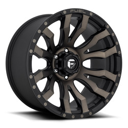 Fuel Wheels Blitz D674 - Matte Black / Machined / Dark Tint Rim - 22x10