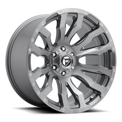Fuel Wheels Fuel Wheels Blitz D693 - Platinum
